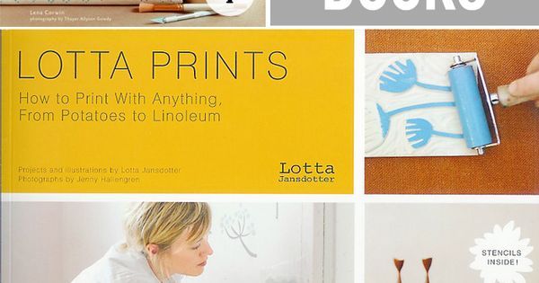 favorite printing books Cotton & Flax