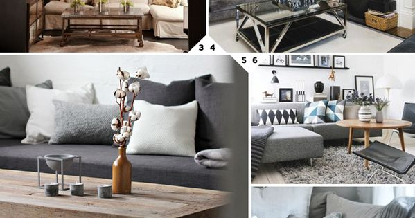 Color Choices: Grey Living Room Ideas and Designs ...