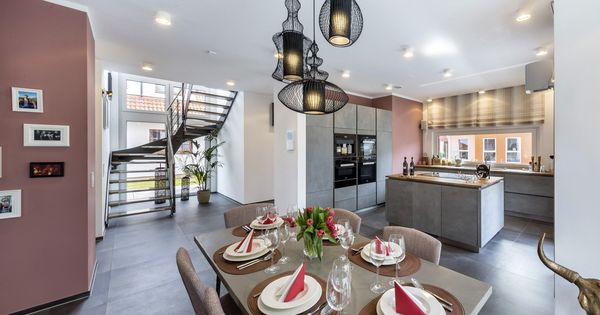 OKAL Musterhaus Poing Wohnküche OKAL Küche \ Esszimmer - bilder für küche und esszimmer