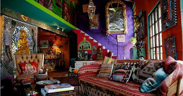 Casa De Los Colores The New York Times Home Garden Slide Sh