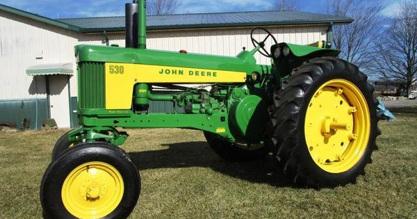 Farm Tractor Front Fenders : John deere with factory wide front and deluxe