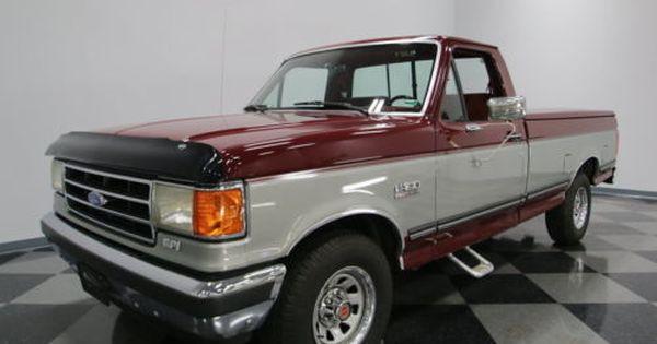 1990 Ford F 150 Xlt Lariat Standard Cab Pickup 2 Door Ford Trucks Ford F150 Classic Trucks