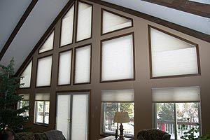 Specialty Shaped Windows Window Coverings Custom Window