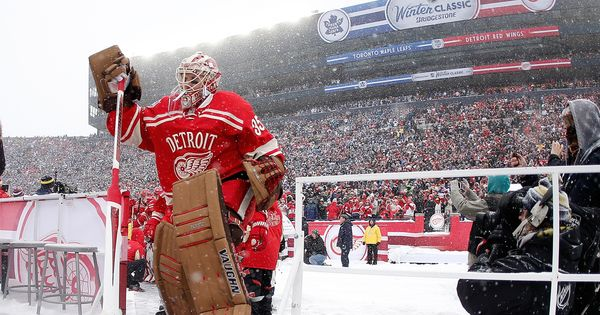 Hockey's Snowtastic Winter Classic 2014 (Gregory Shamus/Getty)
