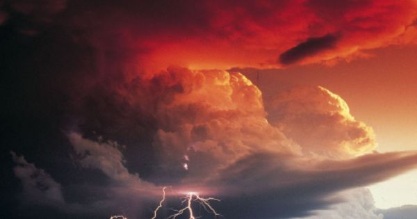 #Lightning Storm Clouds