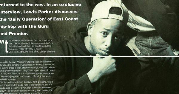 Gang Starr(RIP G.U.R.U. ) | Conscious Rap/ Hip-Hop | Pinterest ...
