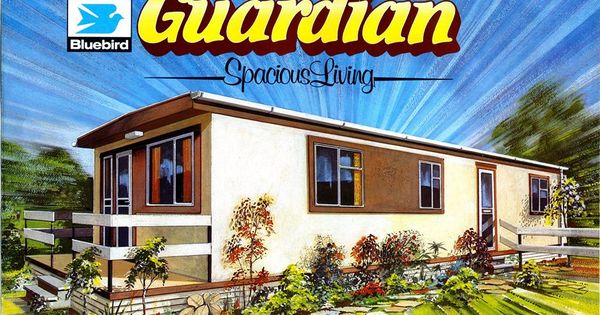 1983 40ft X 12ft Bluebird Guardian Mobil Home