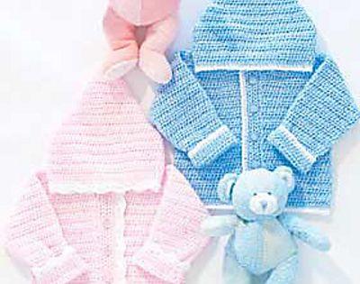 Free Baby Bunting Patterns To Crochet : Ravelry: Sweet Baby Hoodie pattern by Bernat Design Studio ...