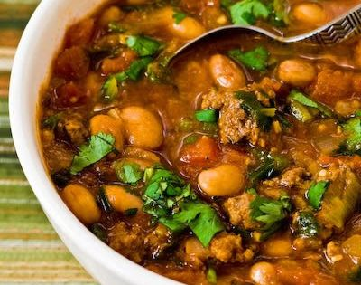 Ground beef stews, Pinto beans and Beef stews on Pinterest