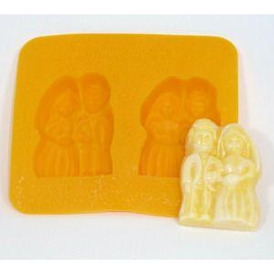 Bride And Groom Flex Mold Mint Molds Mint Wedding Cream Cheese Mints