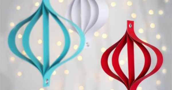DIY ornament ideas. Super easy and great for year-round decorating!