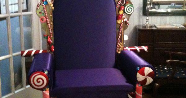 Pics photos king throne chair - The Candy King S Throne Church Christmas Program My