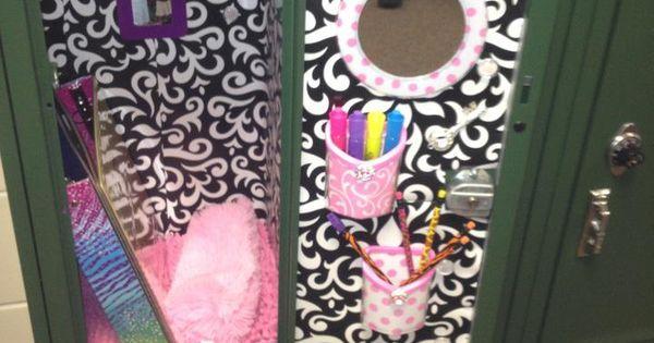 Anastassya S Locker For 7th Grade Pink Amp Black