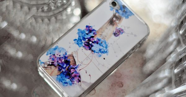 Jazz up Your Clear iPhone Case by lovemaegan iPhone Case DIY