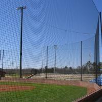 Baseball Netting And Accessories Backstop Nets Dugout Nets Baseball Dugout Net