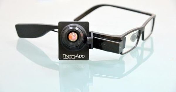 Wearable Night Vision Glasses Therm App Mobile Device