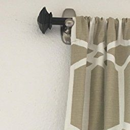 If You Need An Easy Way To Hang A Curtain Rod Use Command Hooks