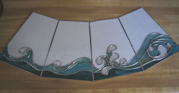 Stained Glass Wave Patterns Posted In Cool Glass