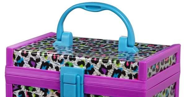 Leopard mini storage box room accessories room decor for Room decor justice