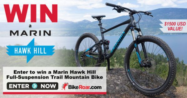 Marin Hawk Hill Full Suspension Trail Mountain Bike Subscribe