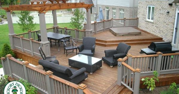 This is a very unique deck built by our franchise in for Pool design kitchener