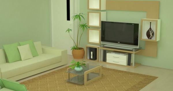 Farbideen Wohnzimmer Naturfarben