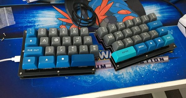 Fourier 40 Split Staggered Keyboard Discontinued Keyboard Office Setup Discontinued