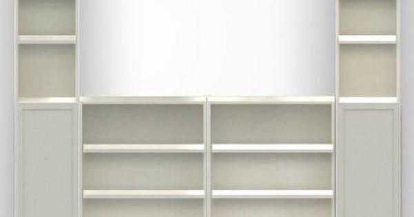 Ikea Billy Bookcase With Doors Vardagsrum Ideer Barnrum