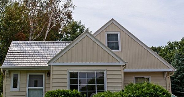 Look At The Steel Siding Quarve Contracting Put On This Home In Minnesota Steel Siding Vertical Siding Siding