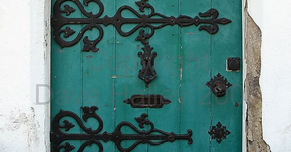 Turquoise door ? ! Yes please ! ! ! Love love love