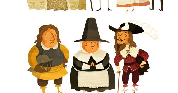 Character Design History : History of fashion by wesley robins via behance modern