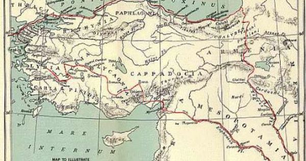 Jenofonte Con Imagenes Mapas Cartografia Asia Menor
