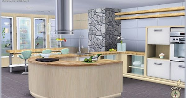 The sims 3 object sets audacis kitchen set custom content for Design kitchen set