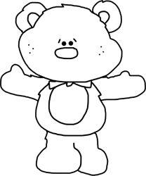 Papa Bear Line Drawing With Images Bear Nursery Line Art