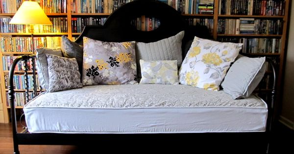 Diy Easy On Easy Off Stay Tight Upholstered Daybed