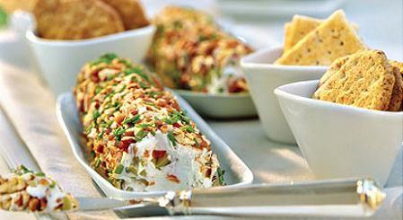 Especial queso para untar con nueces aceitunas y cebolleta - Postres con queso de untar ...