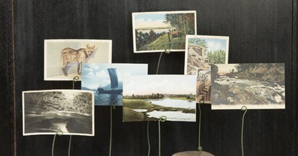 Displaying photos is a great way to personalize your decorations. These rock