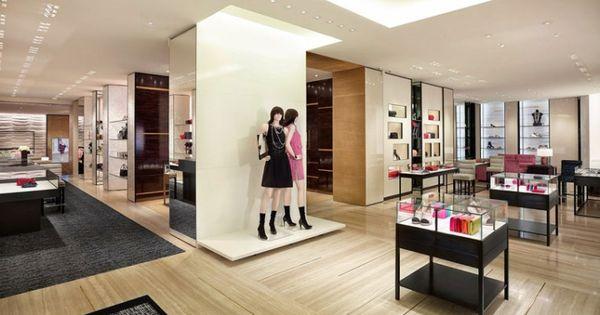 Chanel store by peter marino hamburg germany chanel for Interior designer hamburg