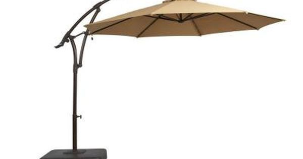 Pin By Katie Ray On Home Offset Patio Umbrella Outdoor Patio Umbrellas Patio Umbrella