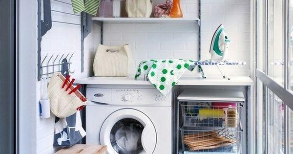 Lavadero peque o y pr ctico homedeco pinterest for Lavadero pequenos