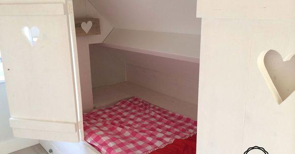 Bedstee voor een meisje bijzondere kinderkamers pinterest kinderkamer slaapkamer en - Kind mezzanine slaapkamer ...
