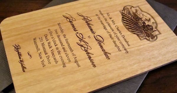 Pin by Juzer Kothari on Wood Style Wedding Invitations – Wood Invitations Wedding