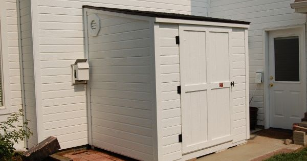 021 600x400 Lean To Storage Building Laundry Mud Room