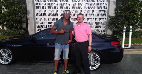 650i Gran Coupe >> This is Houston Texans first round draft pick, DeAndre Hopkins ready to roll with his 2014 BMW ...
