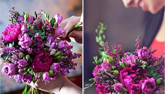 Bouquet Ideas Wedding Bouquets Light Purple Wedding Flowers Magenta Wedding