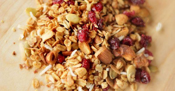Granola, Coconut and Bon appetit on Pinterest