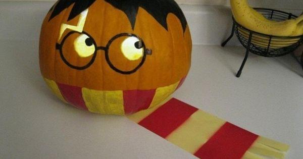 Potter pumpkin! Happy Halloween @Evelyn Romig