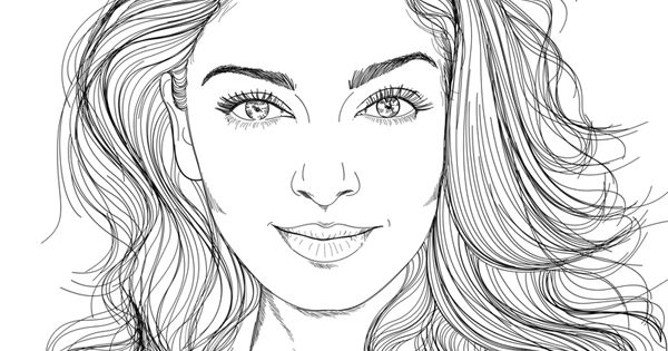 beautiful coloring pages realistic - photo#4