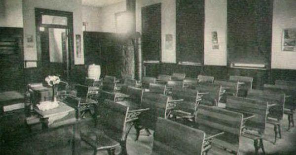 Gehrton School Room Summit Township 1913 Photo School Room Township School