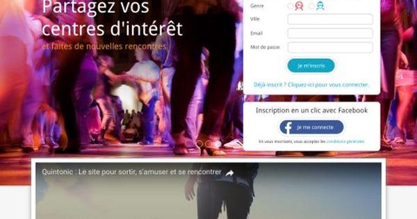 Quintonic.fr, découvrez les avis sur le site de rencontre amicale. Avis Quintonic   Avis sur les sites web   Pinterest